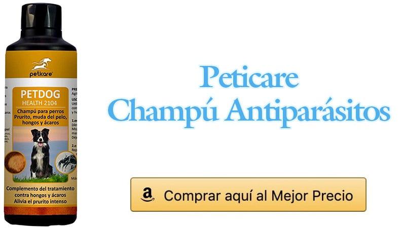 champú antiparásitos perro